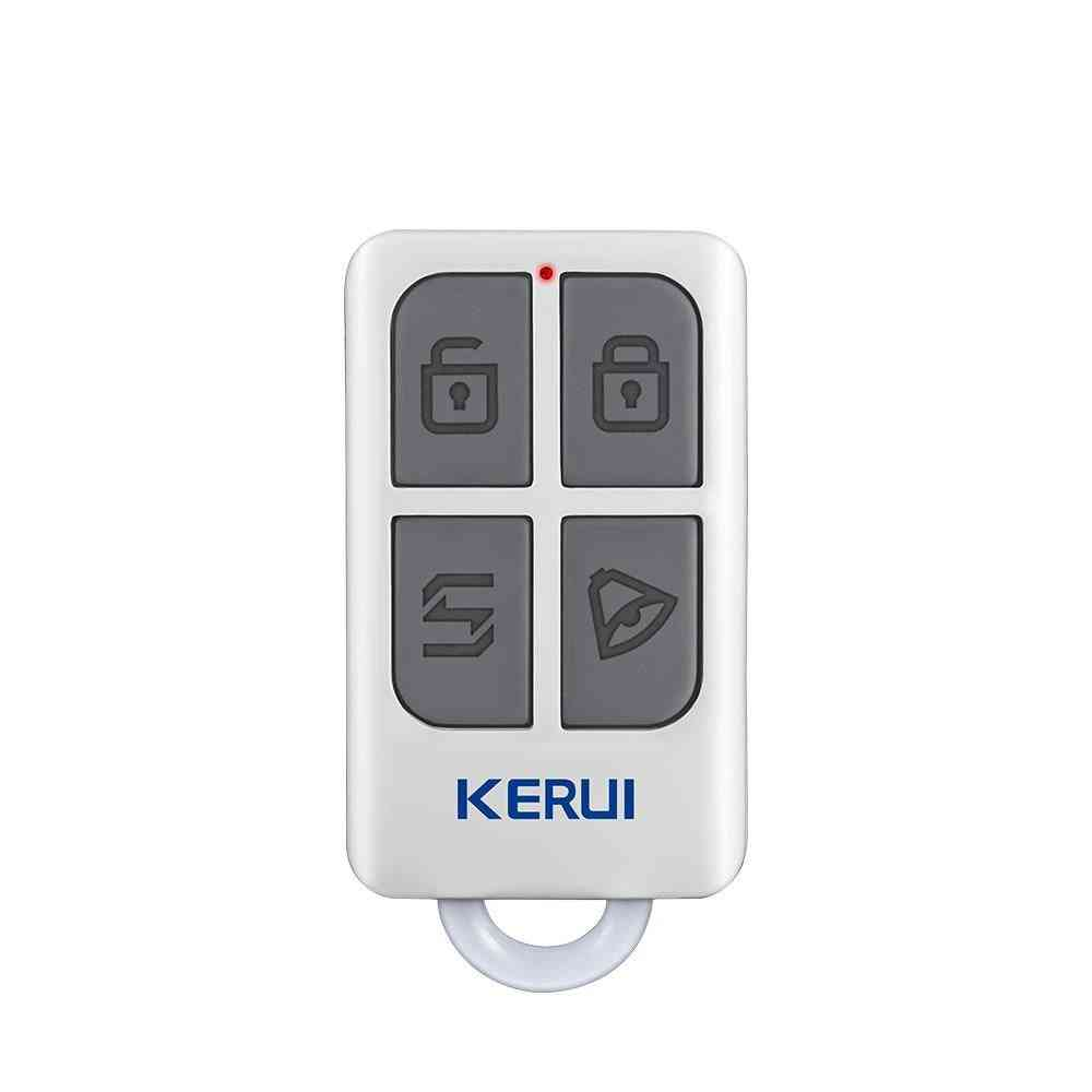 Wireless Remote Control With 4-buttons Keychain - Home Security, Alarm System