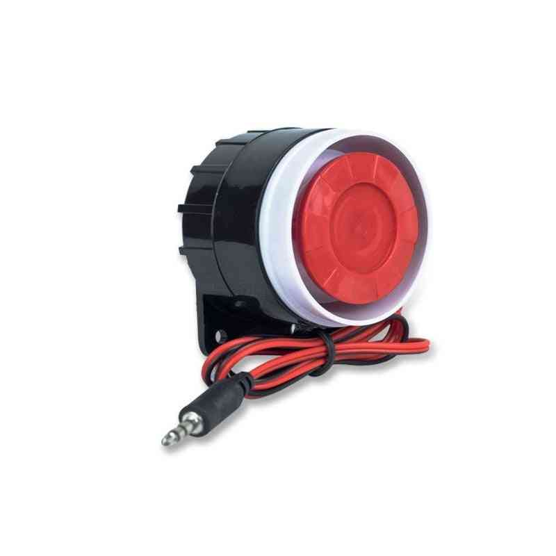 120-db Loudly Mini Wired, Siren Horn For Wireless Home, Alarm System