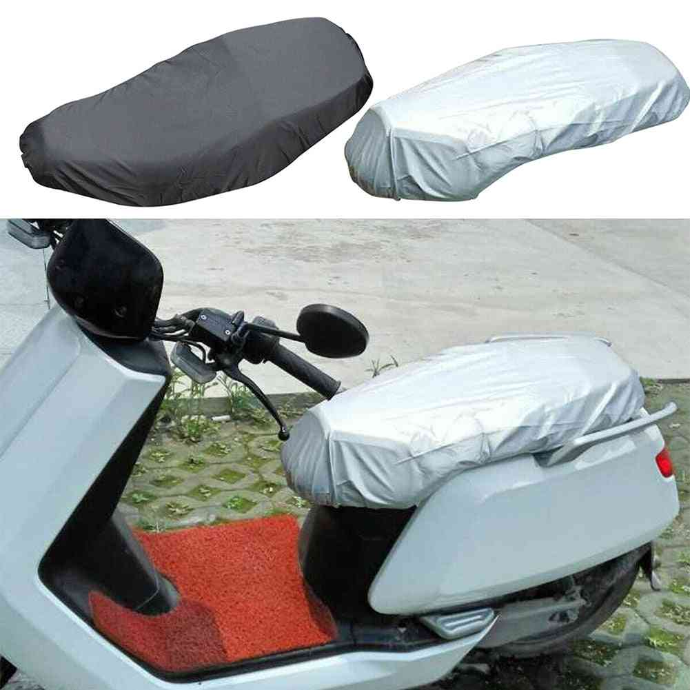 Easy Install Seat Cover Of Motorcycle Scooter