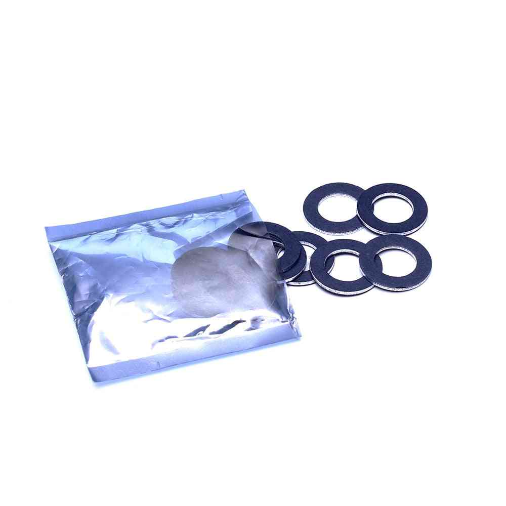 Thread Oil Drain Plug Gasket Washer Set, Car Engine Part Replacement