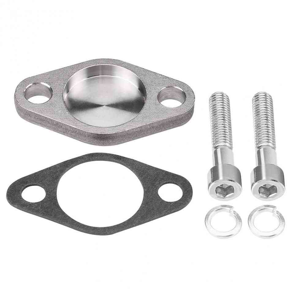 Egr Valve Blanking Block Plates Kit With Gasket For Bmw E53 E38 E39 E46 X5 Si-a0254 Car Accessories