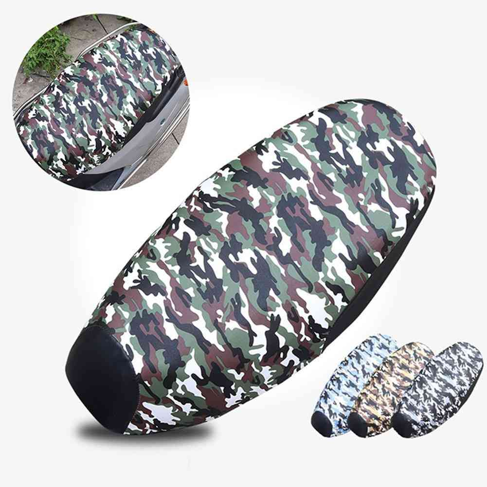 Motorcycle Scooter, Seat Cushion Cover, Waterproof, Uv-resistant
