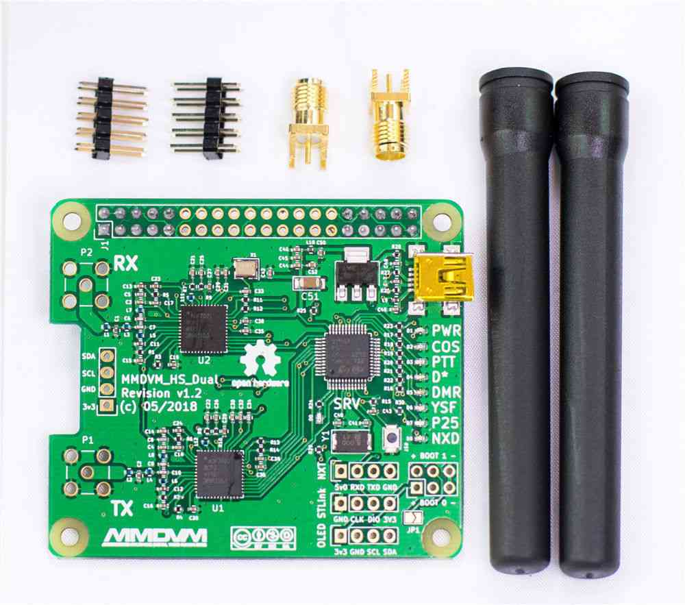 Mmdvm Duplex Hotspot Module With Antenna And Sma Socket