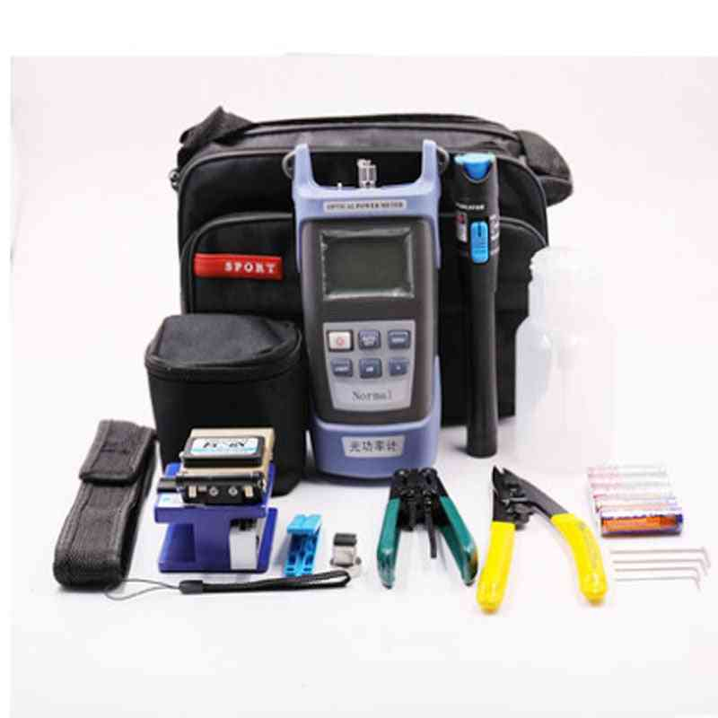 Fiber Tool Kits With Cleaver Optic Power, Meter Kit
