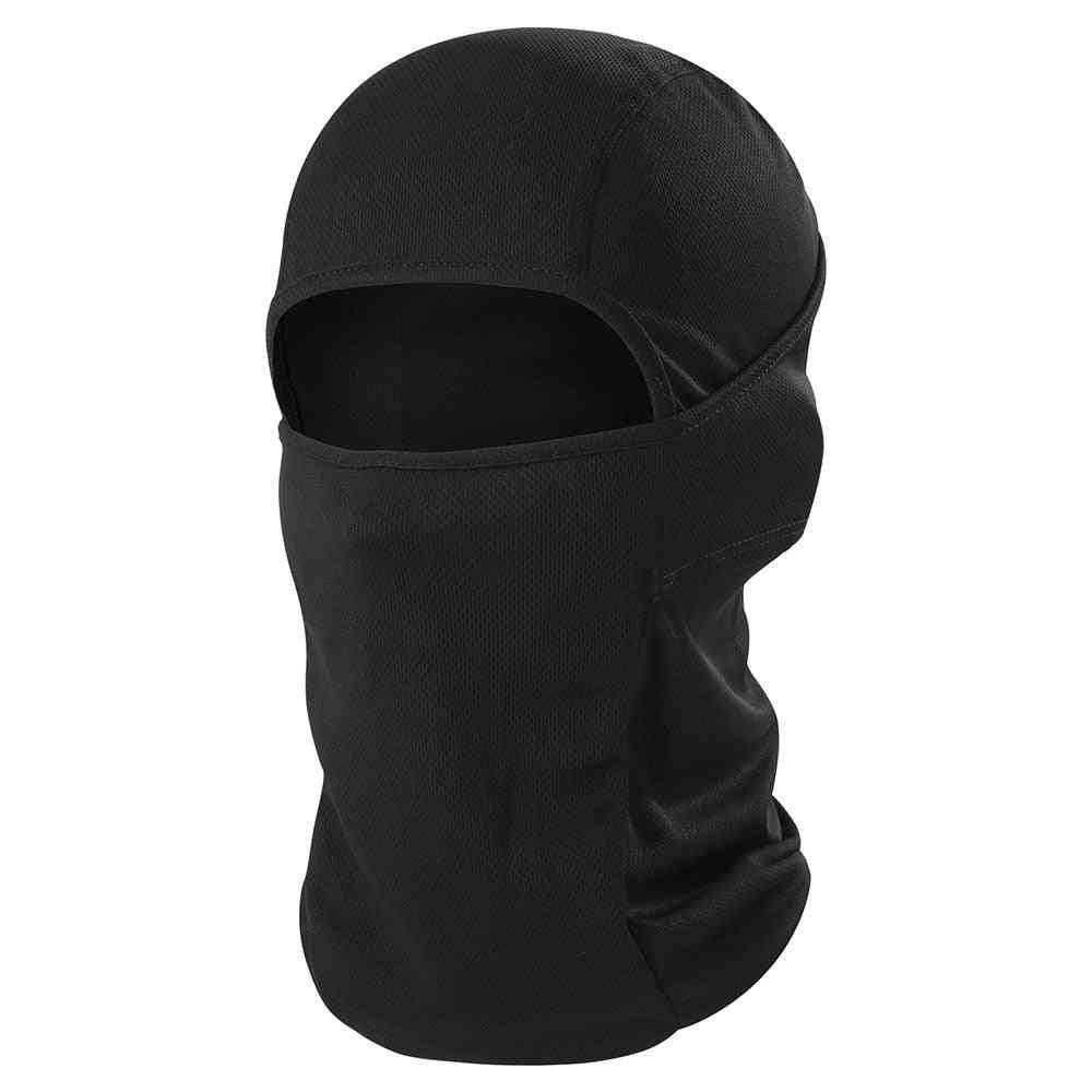 Full Face Mask Cover For Cycling/ Ski Biker Helmet