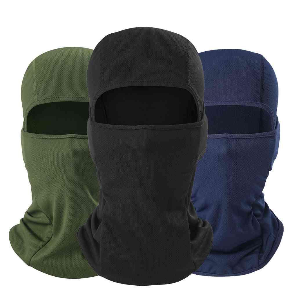 Summer- Full Face & Head Mask, Hood-cap, Helmet