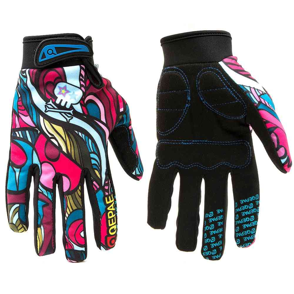Screen-touch, Full-finger, Winter Gloves For Skiing, Climbing, Cycling