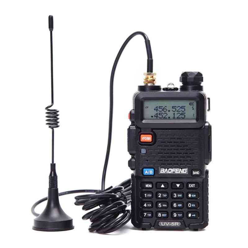 Portable Radio, Mini Car, Vhf Antenna For Walkie Talkie