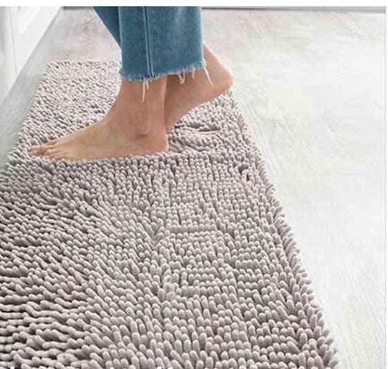 Plush Anti-slip Microfiber, Water Absorb Bathroom Mat