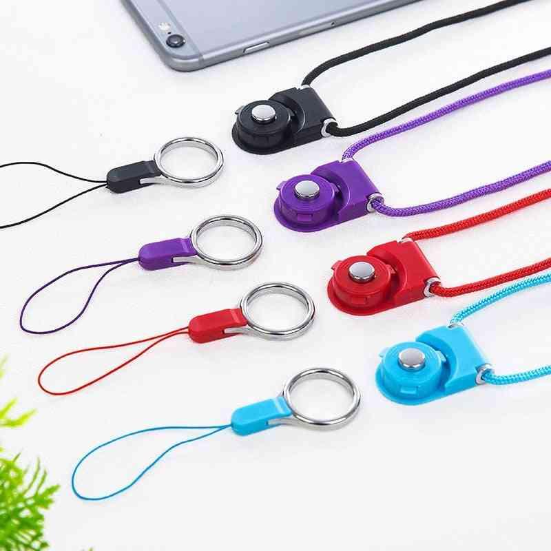 Mobile Neck Lanyard, Neckband Phones Keys, Hanging Strap