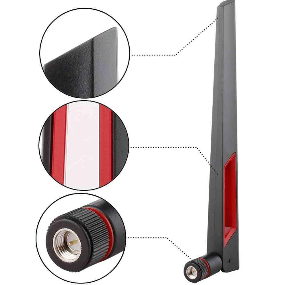 Dual Band Wifi Antenna, Long Range Rp Sma Male Universal Antennas Amplifier