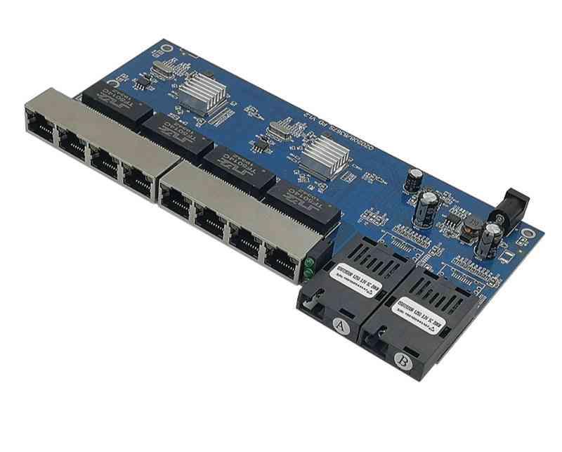 Reverse Poe, Ethernet Switch, Media Converter, Fiber Optical, Utp Port