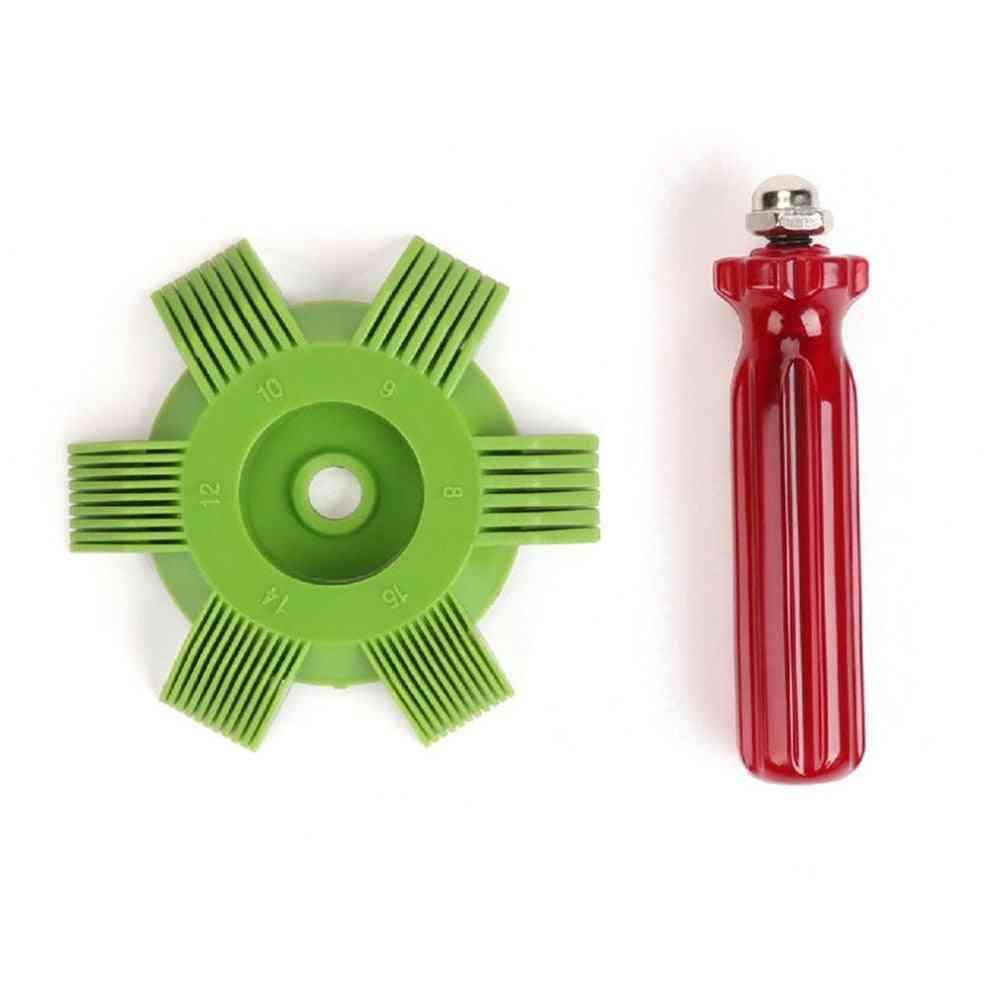 Car A/c Radiator Condenser Evaporator, Fin Straightener Coil Comb
