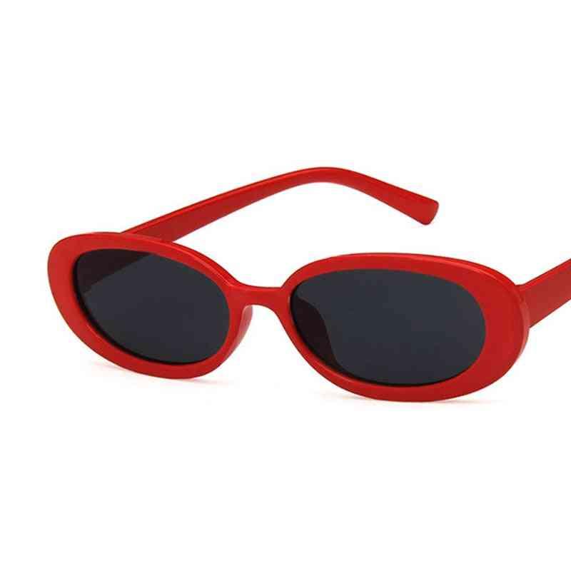 Women Retro Vintage Cat Eye Sunglasses
