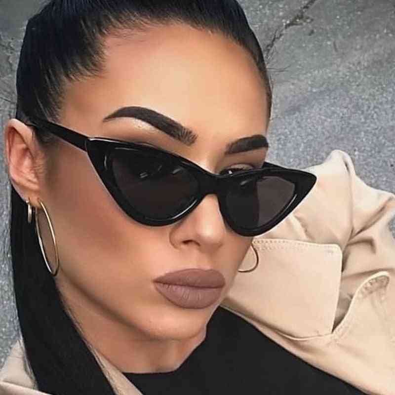 Mirror Triangle Sunglasses Lens Shades Eyewear