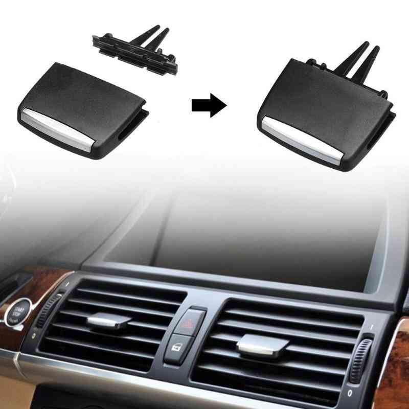 Car Front Rear Center Air Conditioning Vent Outlet Tab Clip Repair Kit