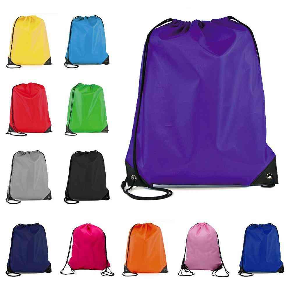 Portable Sports Bag, Thicken Drawstring Belt, Waterproof Backpacks