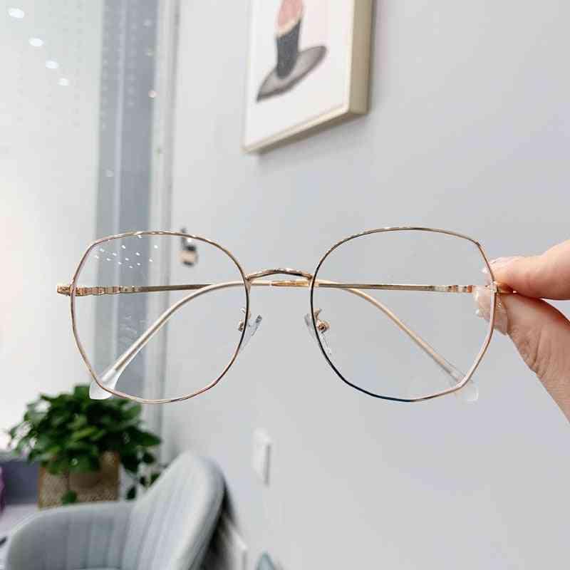 Transparent Glasses Frames, Retro Optical Eyeglasses/women