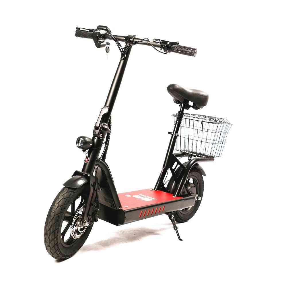 High Speed Mobility Automatic Mini Lithium Battery, Small Fat Tire Foldable Bike