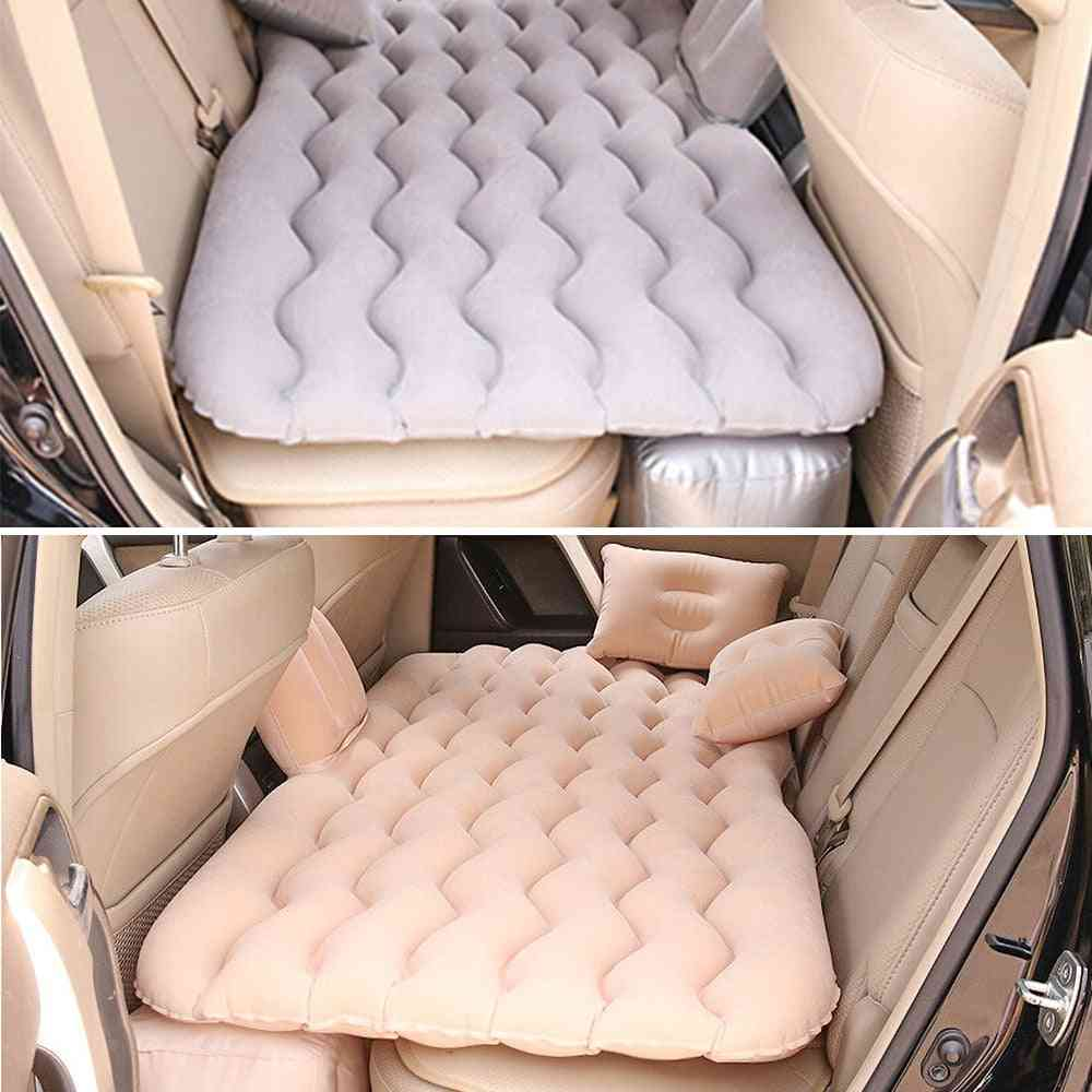 Universal Car Back Seat Cover, Air Inflatable Travel Bed, Mattress For Outdoor Camping