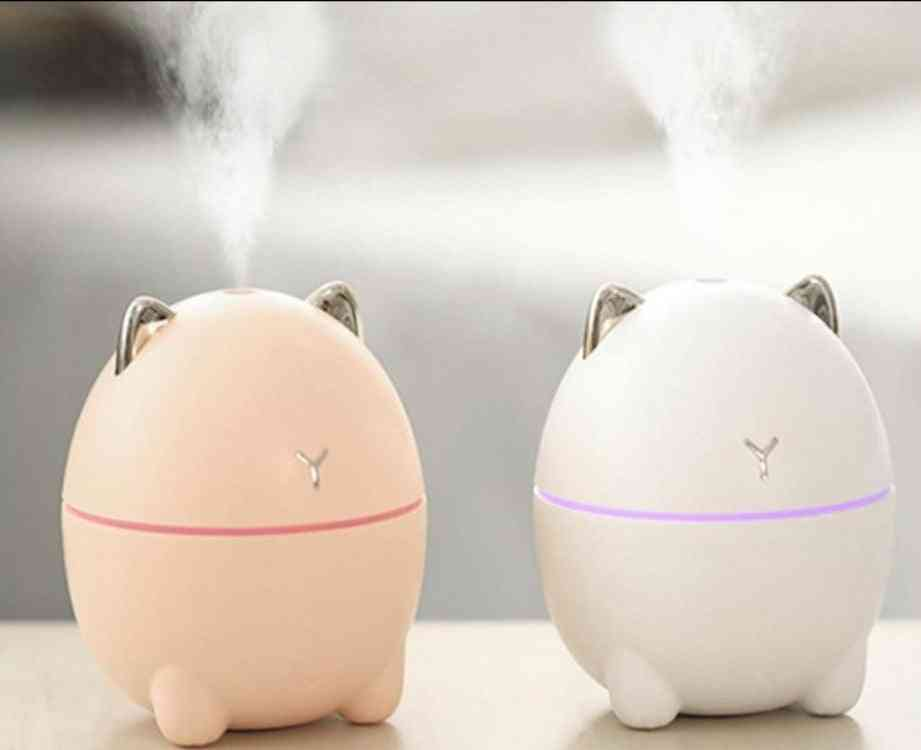 Ultrasonic Mini Air Fresher Humidifier Aroma Essential Oil Diffuser For Car