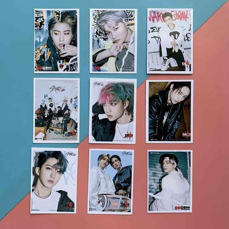 Kpop Stray Photo Cards