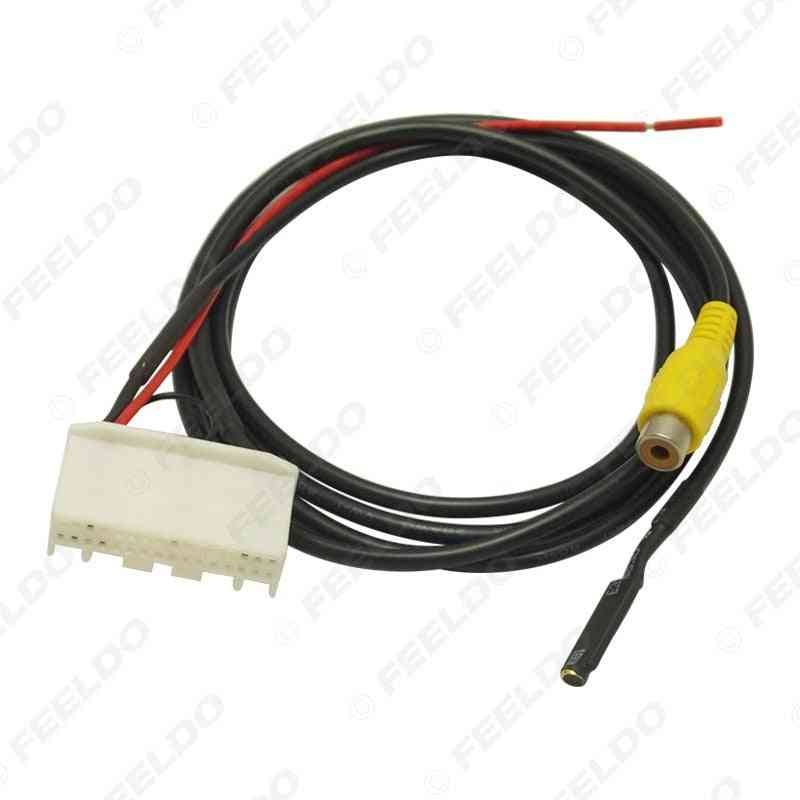 Webcam Reversing Video Strip Line Microphone Cord Adapter Cable