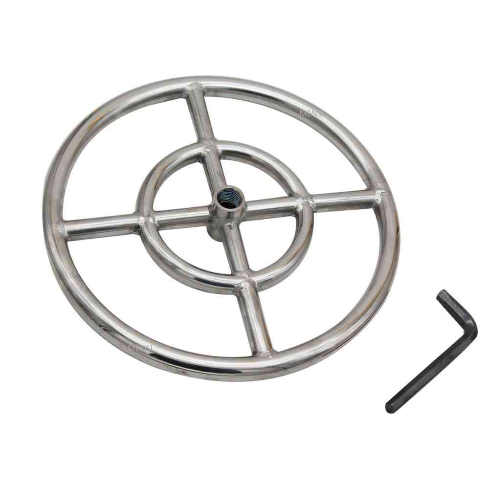 Stainless Steel Propane Fire Pit Ring Burner