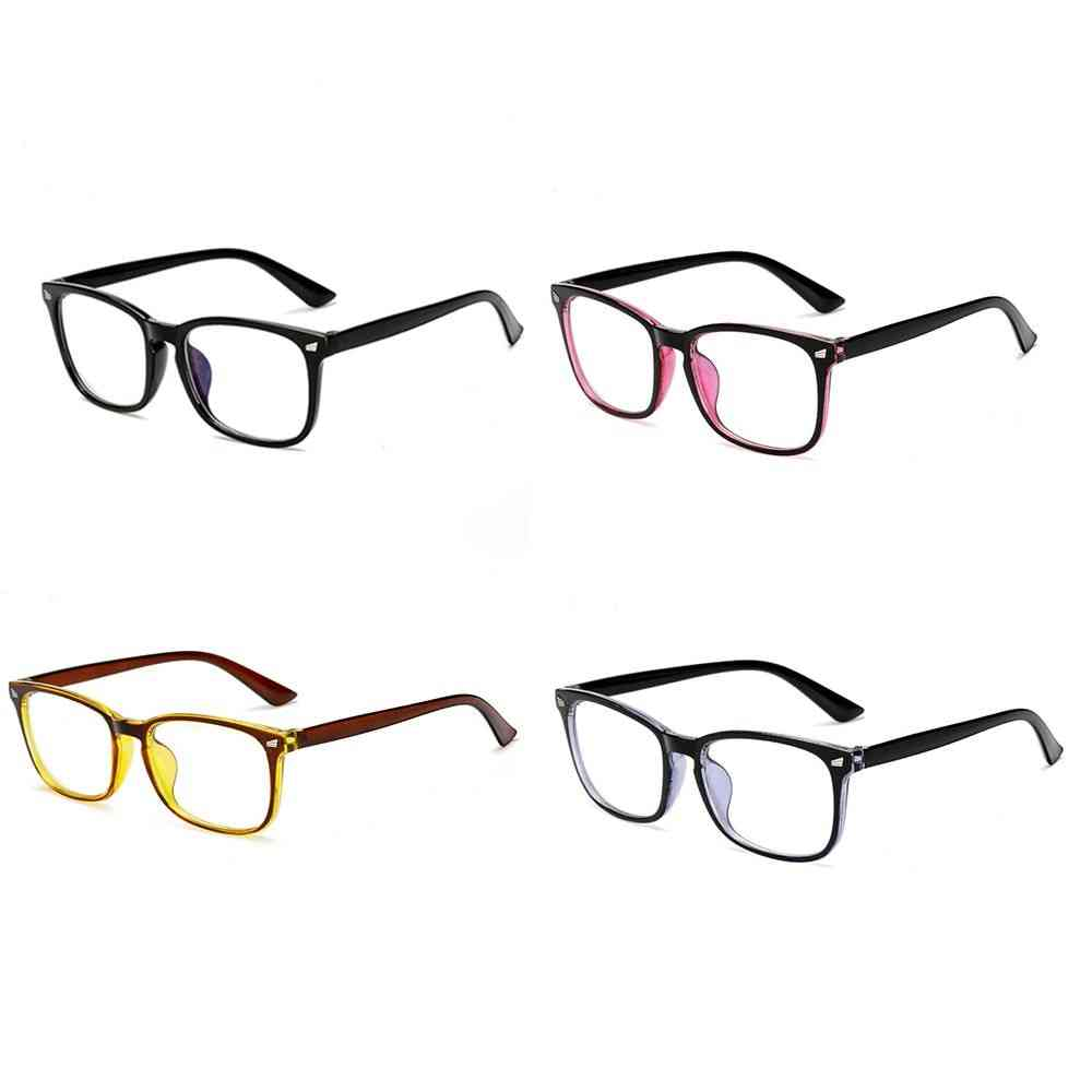 1 Pc Transparent Computer Glasses Spectacle Frame, Anti Blue Ray Clear Lens Eyeglasses