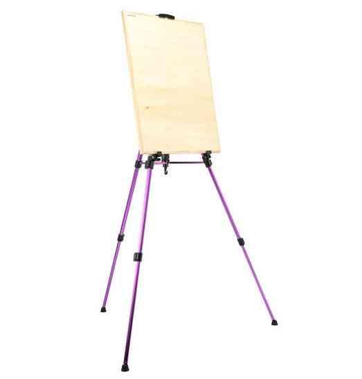 Folding Painting Easel Frame Artist Adjustable Tripod Display Shelf