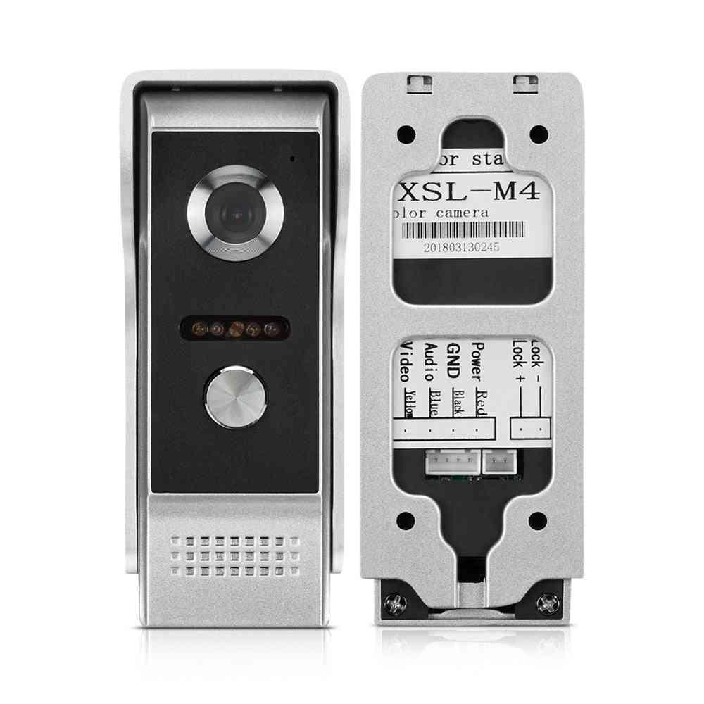 Door Phone, Intercom Outdoor, Call Panel Unit For Home Security, Doorbell