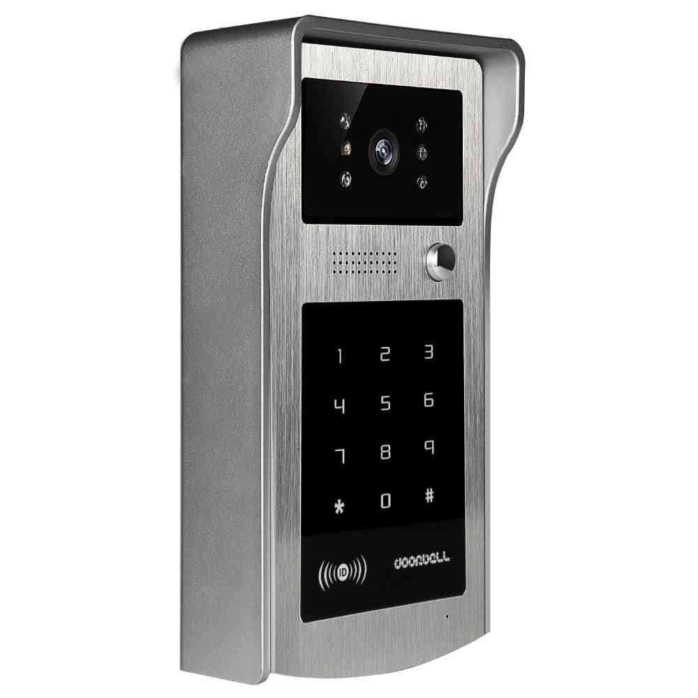 Ir Rfid Code Keypad Camera For 4 Wire Cable Doorbell