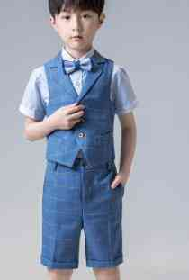 Short Suit For Boy, Single Breasted For Weddings, Costume Blazers