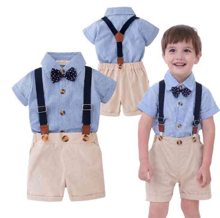 Summer Boy Brace Suit
