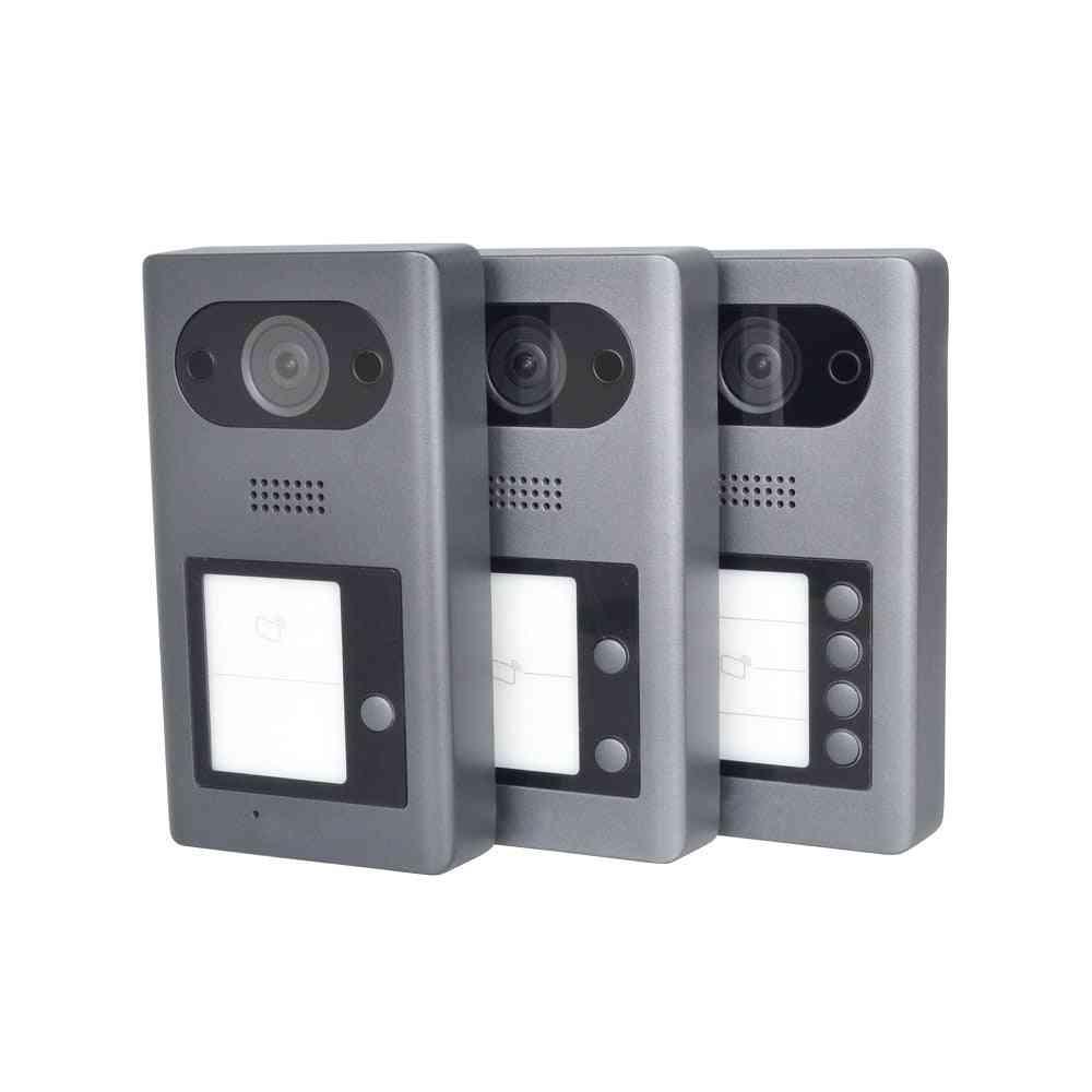 Multi-language Ip Metal Villa Outer Doorbell Video Intercom