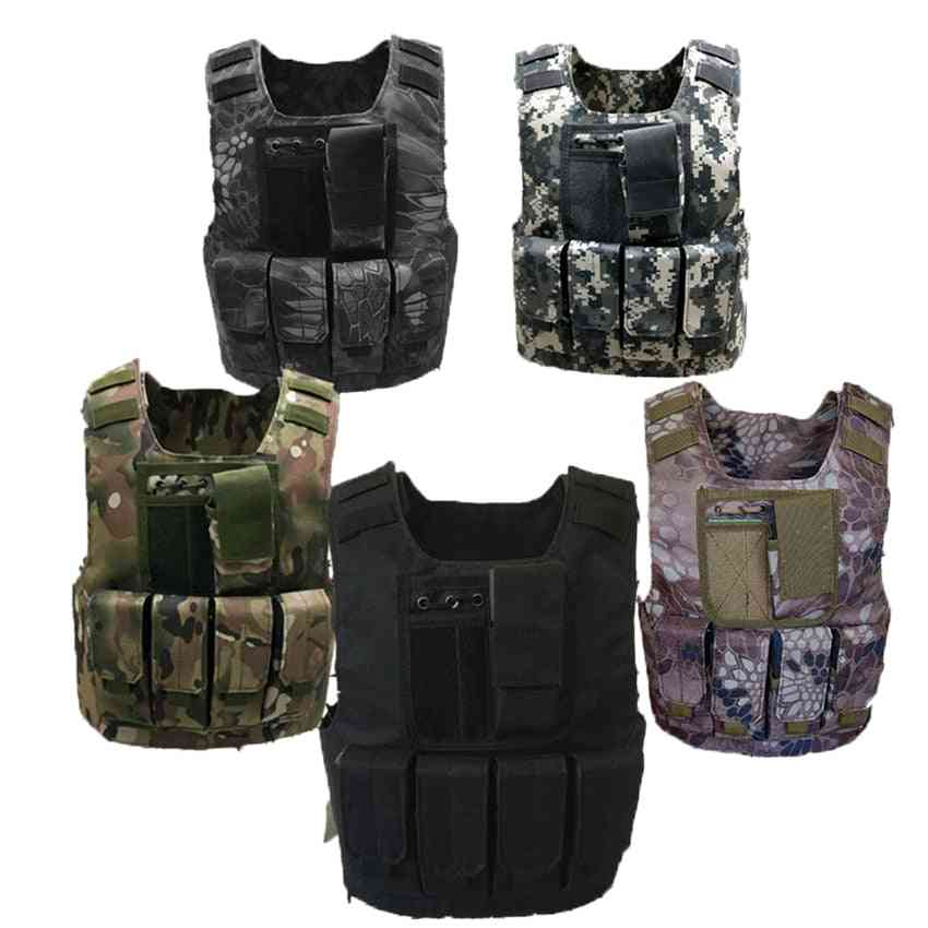 Tactical Bulletproof Vests Military Uniforms, Combat Armor Army Soldier Costumes