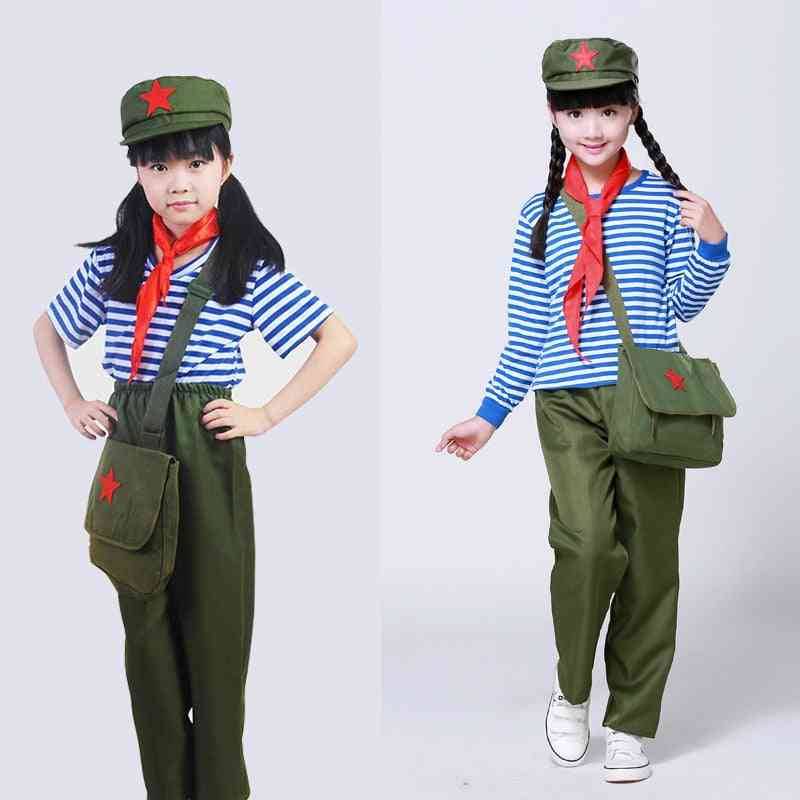 Scouting Army Uniform For, Military Costumes  Performances Clothing