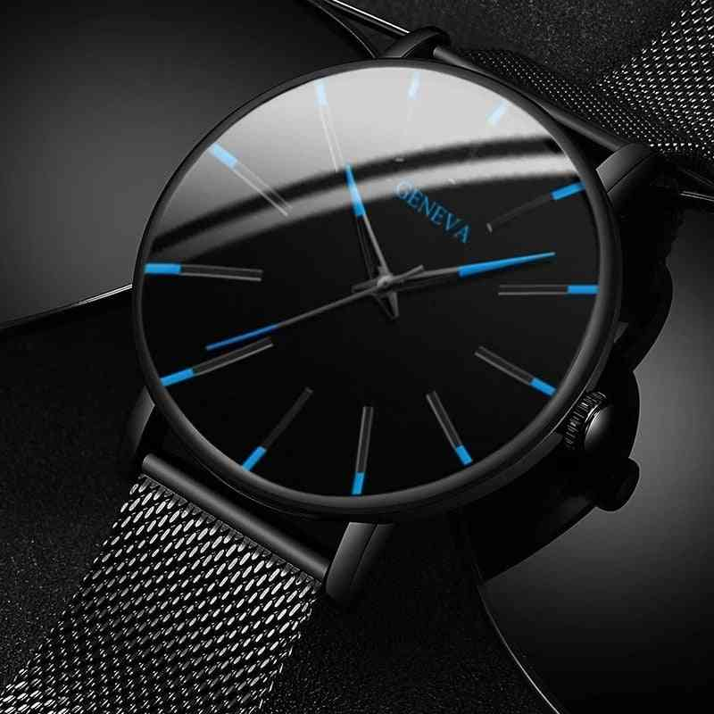 Minimalist Stainless Steel Men's Watch