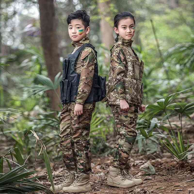 Tactical Scouts Frog Uniforms, Military Suits