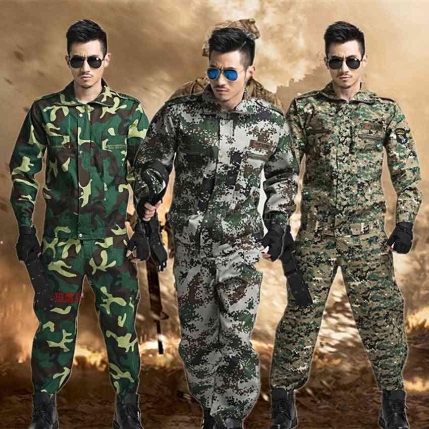 Summer Jungle Suit, Spot Outdoor Expansion Training Military Men Costume