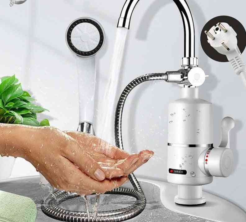 Electric Kitchen Water Heater Tap Instant Hot Water Faucet Heater