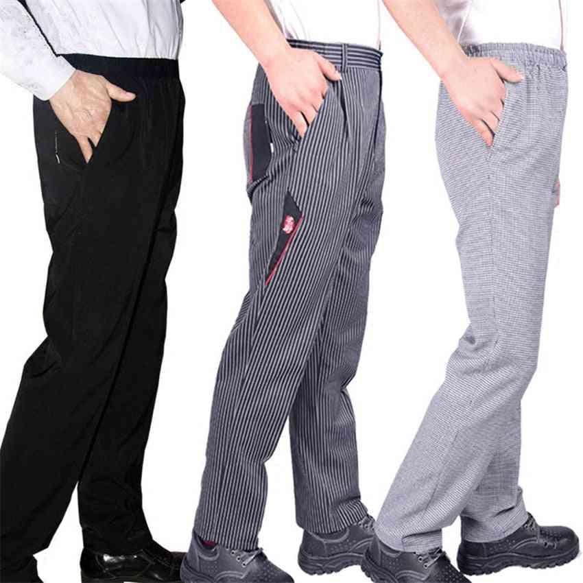 Men's Loose Chef Trousers-workwear Uniform