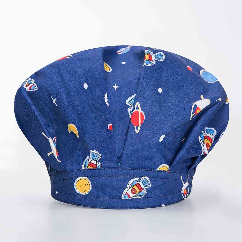 High Quality Unisex Fluffy Chef Hat