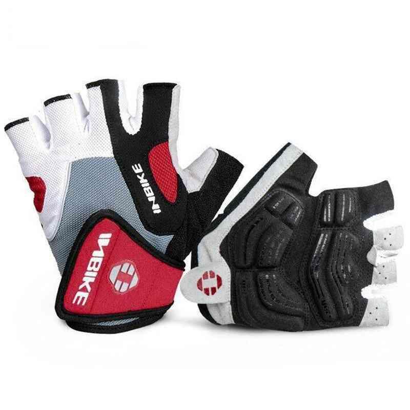 Shockproof Gel Pad Half Finger Sport Gloves