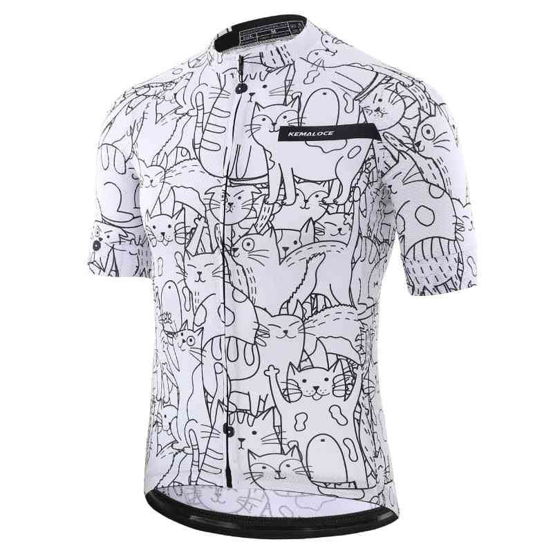 Breathable Eco-friendly Cycling Jersey / Shirts