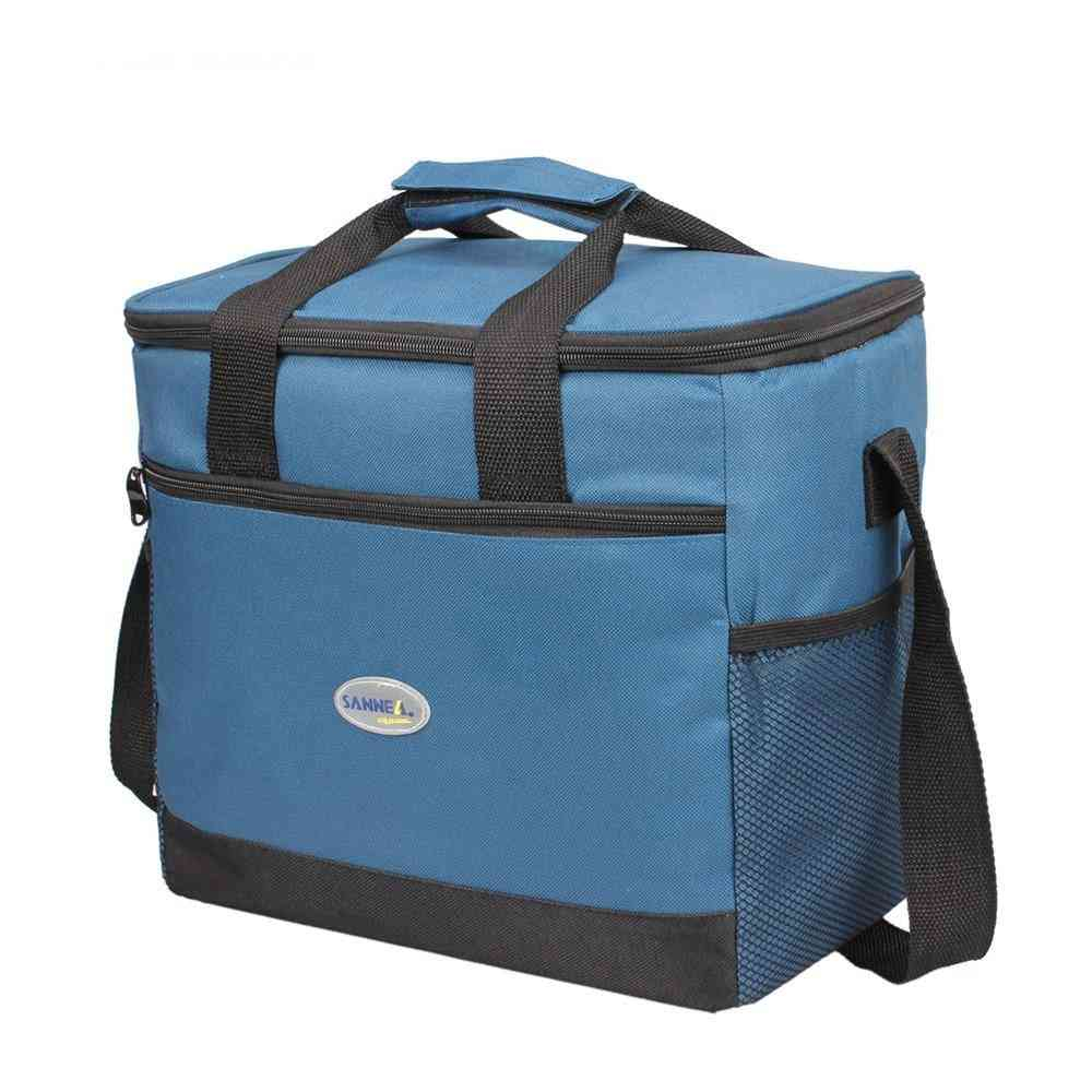 16l Big Capacity, Thermal Insulated, Ice Cooler Bag For Food Storage