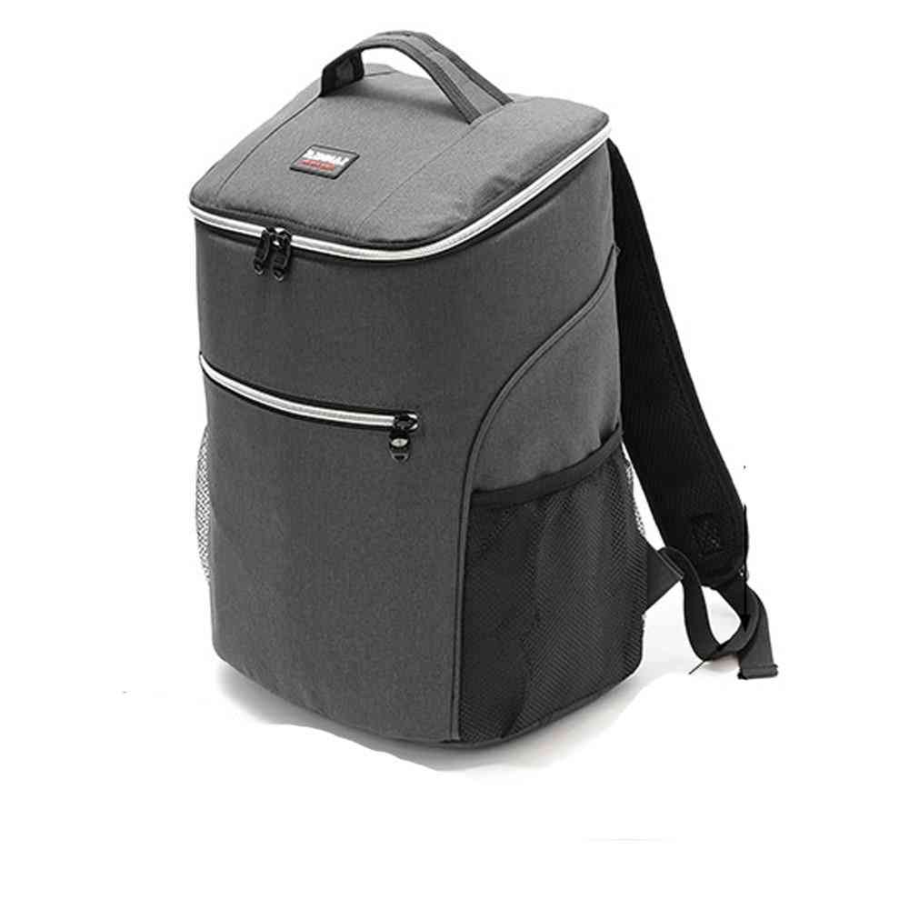 20l/ 600d- Oxford Big Cooler Bag, Thermo Lunch Picnic Box, Backpack Thermal Shoulder Bags