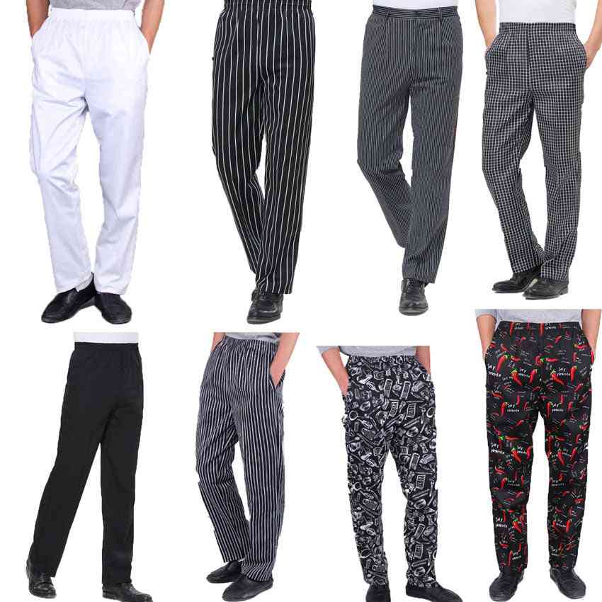 High Quality Chef Uniforms Cooker Work Clothes Pants