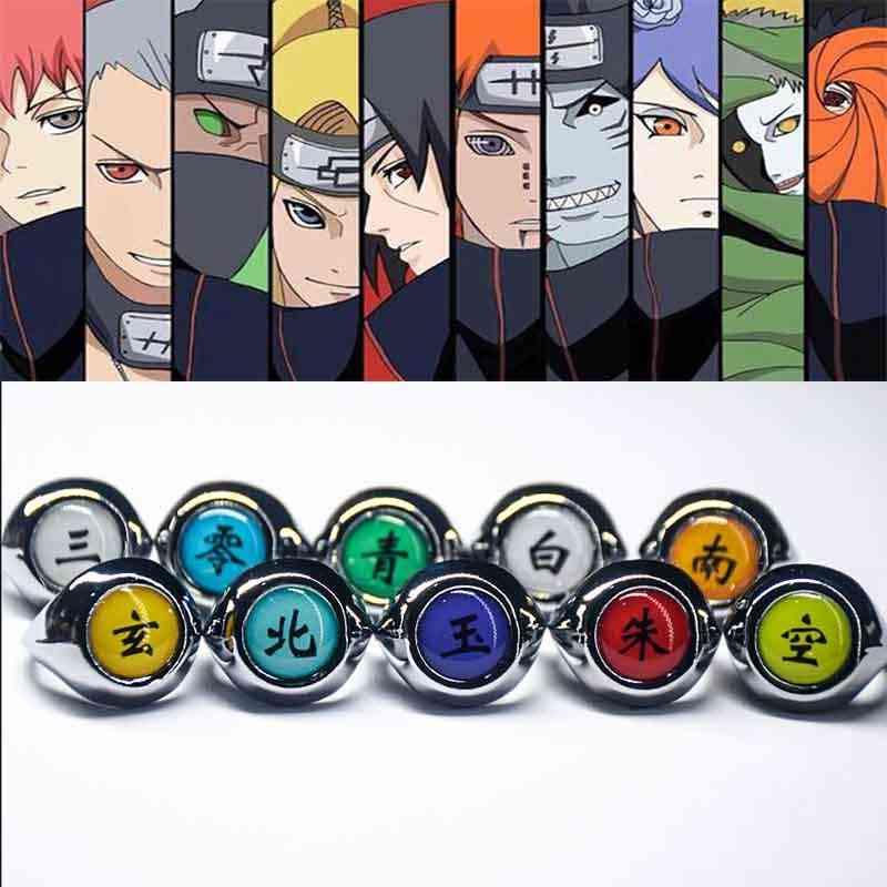 Anime Cosplay Rings
