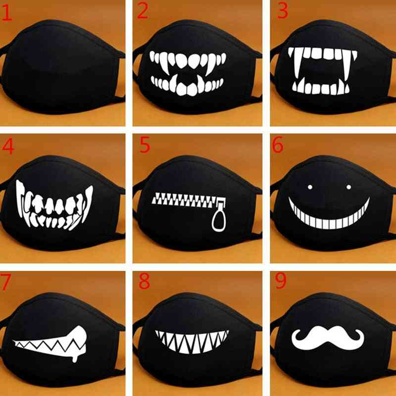 Cute Cartoon Personality, Cosplay Expression - Mouth Mask
